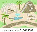 illustration of a fantasy... | Shutterstock .eps vector #515415862