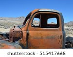 Rusted Truck In The Desert