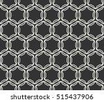 seamless geometric line pattern ... | Shutterstock .eps vector #515437906
