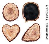 Watercolor Illustration  Tree ...