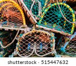 Colourful Lobster Pots Stucked...