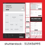 e commerce website design...