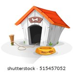 dog house  illustration of a... | Shutterstock .eps vector #515457052