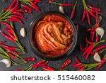 korean pickle kimchi | Shutterstock . vector #515460082