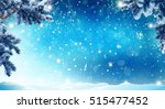 merry christmas and happy new... | Shutterstock . vector #515477452