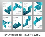 brochure template  flyer design ... | Shutterstock . vector #515491252