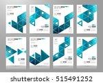 brochure template  flyer design ... | Shutterstock . vector #515491252