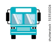 bus transport silhouette icon | Shutterstock .eps vector #515510326