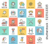 icons personality psychology.... | Shutterstock .eps vector #515513335