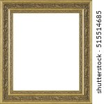 picture frame isolated on white ... | Shutterstock . vector #515514685