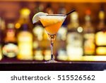 daiquiri cocktail on the bar | Shutterstock . vector #515526562