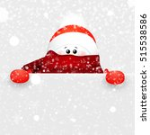 christmas cute  funny  baby ...   Shutterstock .eps vector #515538586