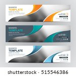 abstract banner design... | Shutterstock .eps vector #515546386