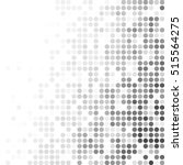 black random dots background ... | Shutterstock .eps vector #515564275
