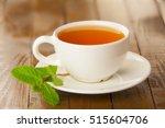 Delicious Hot Green Tea On ...