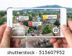 augmented reality marketing... | Shutterstock . vector #515607952