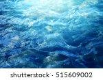 beautiful blue sea wave...