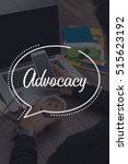 Small photo of BUSINESS COMMUNICATION WORKING TECHNOLOGY ADVOCACY CONCEPT