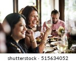 restaurant chilling out classy... | Shutterstock . vector #515634052