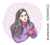vector isolated illustration of ... | Shutterstock .eps vector #515654512