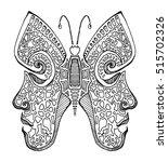 zodiac signs twins . | Shutterstock .eps vector #515702326