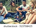 people friendship togetherness... | Shutterstock . vector #515708425