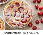 Clafoutis With Cherry In...