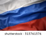 waving colorful national flag... | Shutterstock . vector #515761576