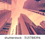new york skyscrapers vew from... | Shutterstock . vector #515788396