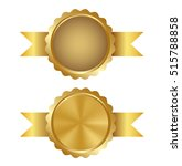 golden award of quality... | Shutterstock .eps vector #515788858
