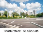 outdoor car parking lot in city ...   Shutterstock . vector #515820085