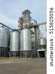 grain elevator | Shutterstock . vector #515825056