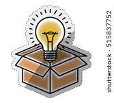 isolated big idea draw design   Shutterstock .eps vector #515837752