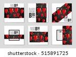 abstract vector black friday... | Shutterstock .eps vector #515891725