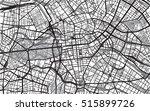 urban city map of berlin ... | Shutterstock .eps vector #515899726