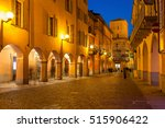 evening view of narrow... | Shutterstock . vector #515906422