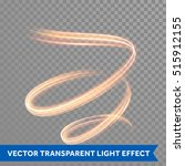 light line trace effect. light... | Shutterstock .eps vector #515912155