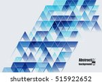 abstract background with... | Shutterstock .eps vector #515922652