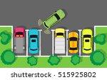 city parking vector web banner. ...   Shutterstock .eps vector #515925802