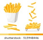 French Fries. Vector...