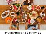 people eat healthy meals at...   Shutterstock . vector #515949412