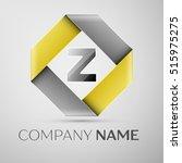 letter z vector logo symbol in... | Shutterstock .eps vector #515975275