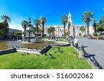 arequipa peru november 9  main... | Shutterstock . vector #516002062