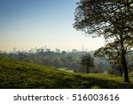 scenic morning landscape view... | Shutterstock . vector #516003616