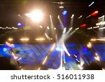 defocused entertainment concert ... | Shutterstock . vector #516011938