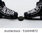 Men's Hockey Skates And The...
