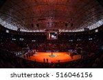 valencia  spain   october 12 ...   Shutterstock . vector #516046156