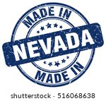 made in nevada. stamp. | Shutterstock .eps vector #516068638