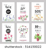 sale banners collection for... | Shutterstock .eps vector #516150022