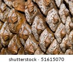 Pine Cone Background Macro Ful...